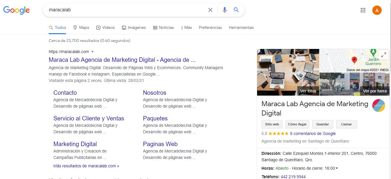 Como crear la ficha perfecta para Google My Business