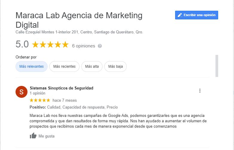 Tips para conseguir más reseñas en Google My Business
